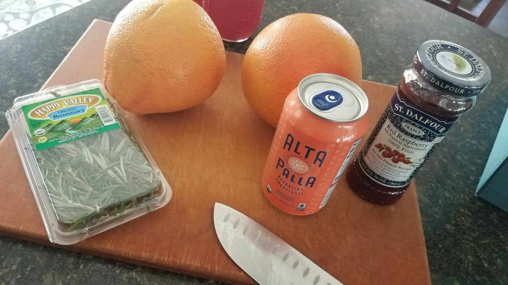 Grapefruit Drink Prep